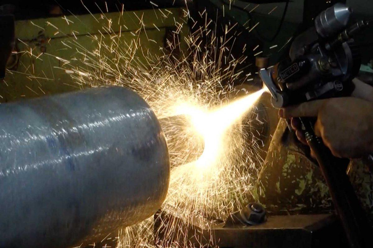 Metallizzazione industriale - Rasvan Spray